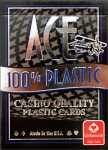 Ace 100% Plastic Playing Cards (1 Deck)