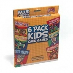 Bicycle 6-Pack Kids Card Games