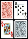 Copag 1546 Blue/Red Jumbo Index Poker Playing Cards