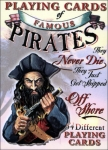 Famous Pirates Playing Cards