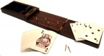 Knob & Heel Folding Cribbage Set