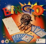 Metal Bingo Cage Set