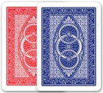 Modiano Classic Bicycle Red/Blue Playing Cards (2 Decks)