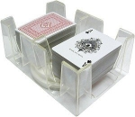 Six-Deck Revolving Card Holder