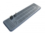 Three-Track Aluminum Cribbage Board