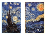 Van Gogh Starry Night Bridge Playing Cards
