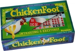 Chickenfoot Double 9 Dominoes Set