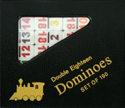 Double Eighteen Numerical Dominoes