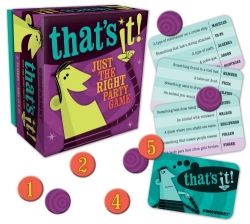That's It! Just The Right Party Game