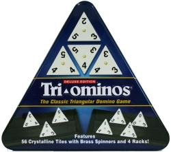 Tri-Ominos Deluxe In Triangular Tin