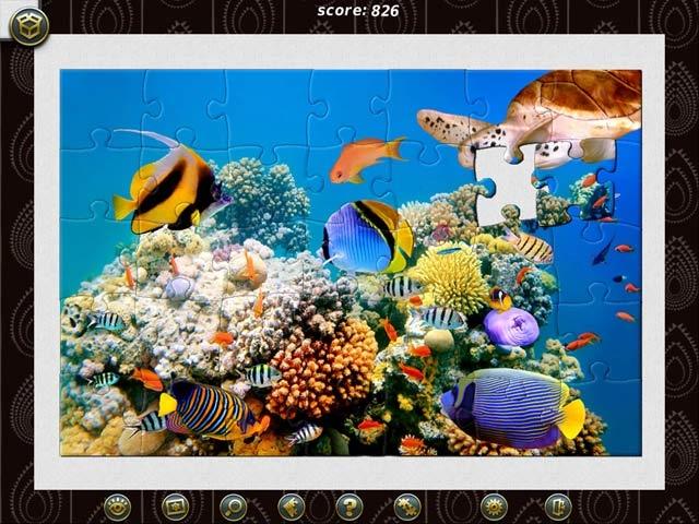 1001 Jigsaw World Tour Africa Screenshot