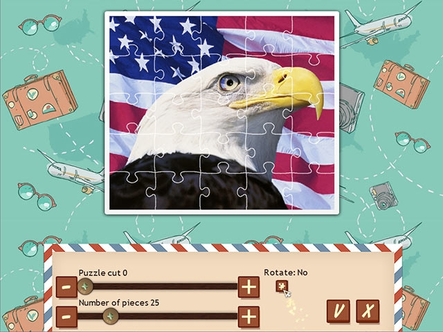 1001 Jigsaw World Tour: American Puzzle Screenshot