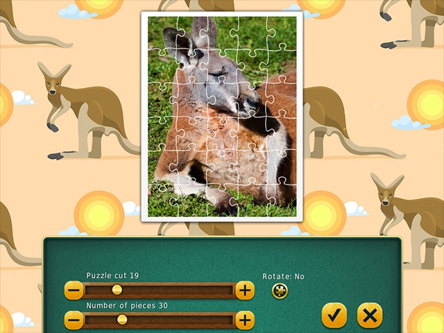 1001 Jigsaw World Tour: Australian Puzzles Screenshot