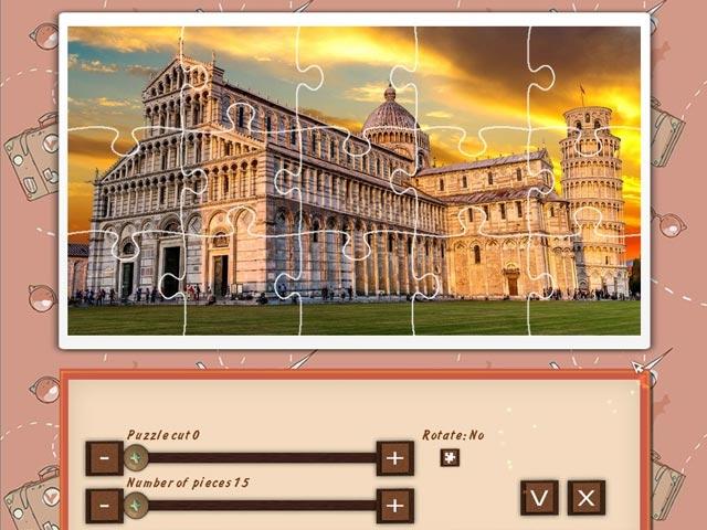 1001 Jigsaw World Tour: Europe Screenshot