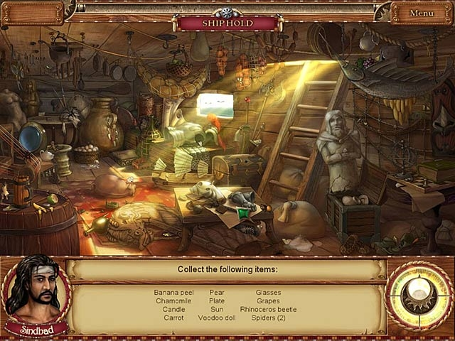 1001 Nights: The Adventures of Sindbad Screenshot