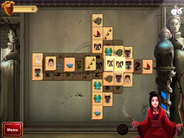 2D Mahjong Temple Screenshot