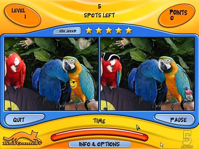 5 Spots Screenshot