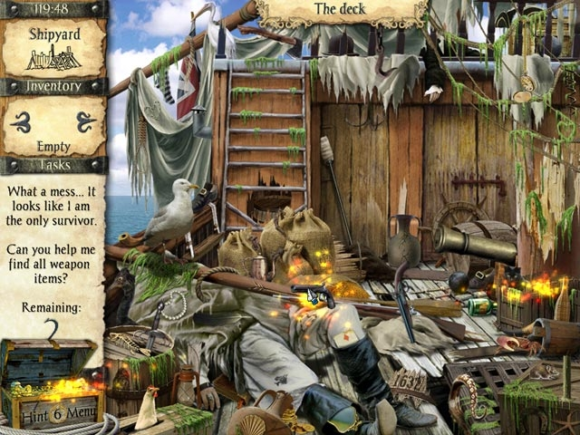 Adventures of Robinson Crusoe Screenshot