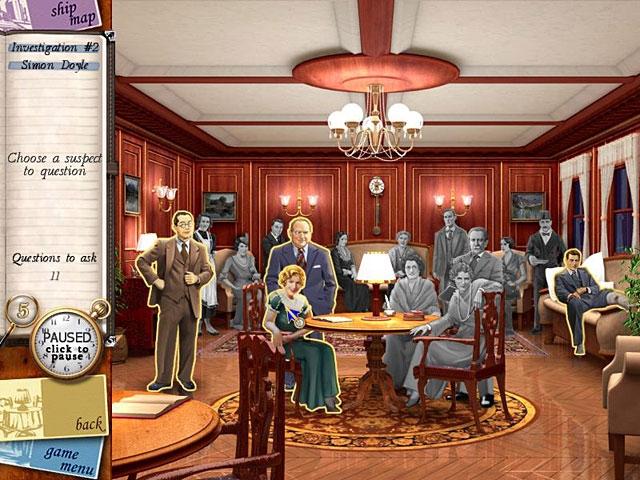 Agatha Christie - Death on the Nile Screenshot