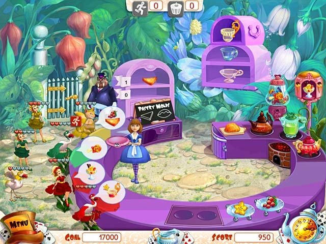 Alice's Teacup Madness Screenshot