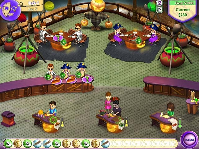 Amelie's Cafe: Halloween Screenshot
