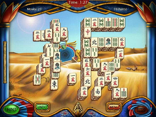 Art Mahjongg Egypt Screenshot