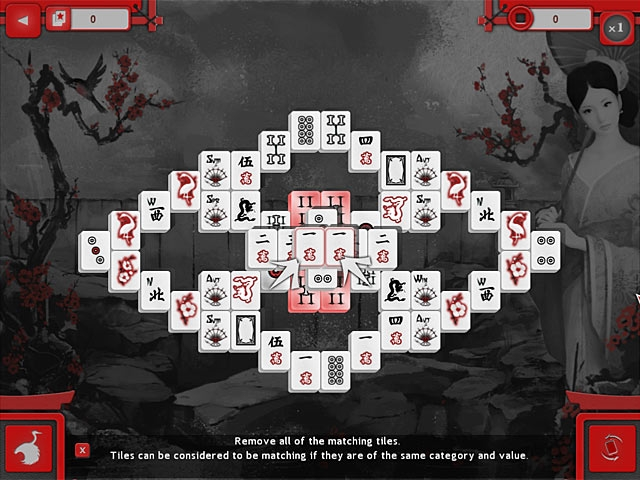 Asian Mahjong Screenshot