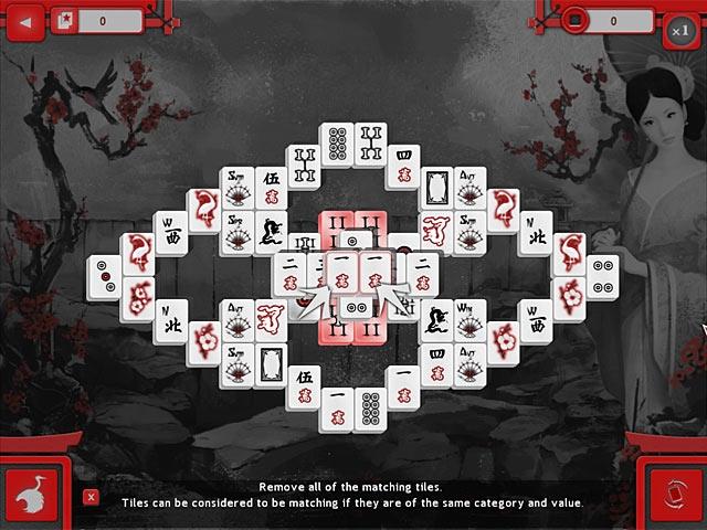 Asian Mahjong Screenshot
