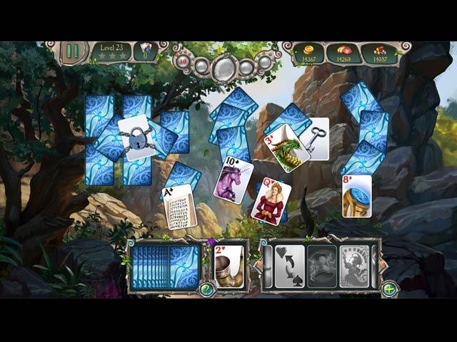 Avalon Legends Solitaire 3 Screenshot