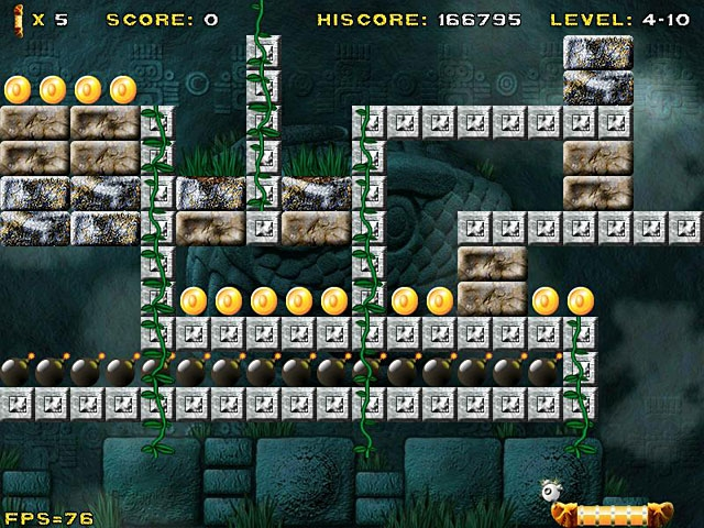Aztec Bricks Screenshot