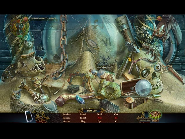 Beyond the Unknown: A Matter of Time Collector's Edition Screenshot