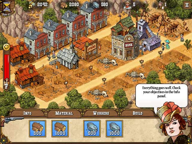 Big Bang West Screenshot