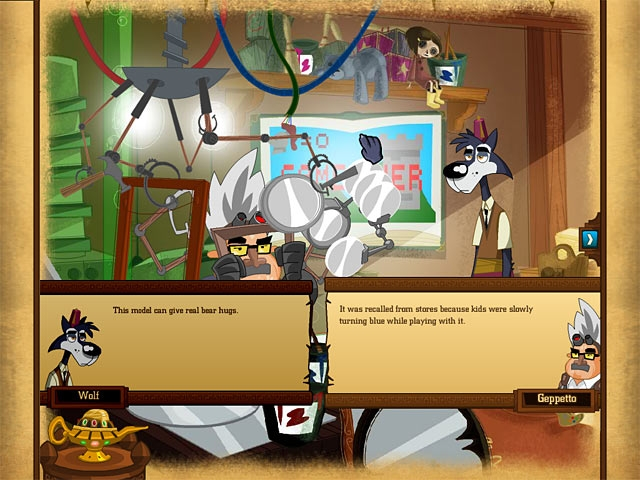 Big Brain Wolf Screenshot