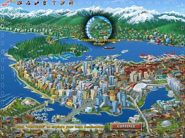 Big City Adventure: Vancouver Screenshot