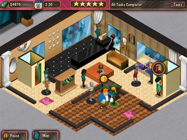 Boutique Boulevard Screenshot