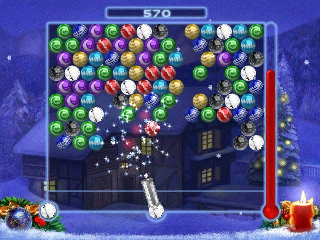 Bubble Xmas Screenshot