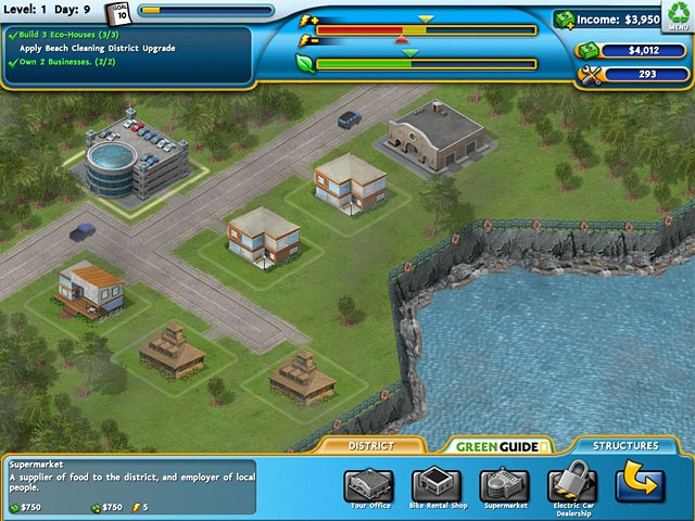 Build It Green: Back to the Beach Screenshot