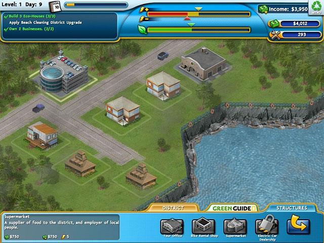 Build It Green: Back to the Beach Screenshot