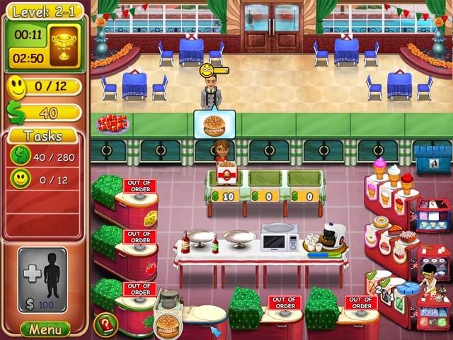 Burger Bustle: Ellie's Organics Screenshot