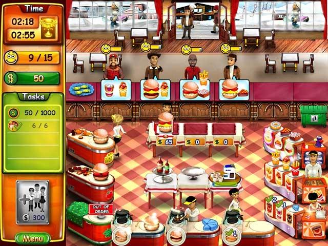 Burger Bustle Screenshot