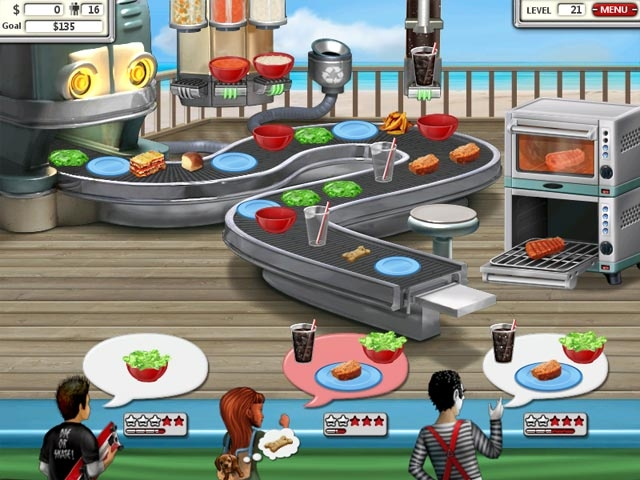 Burger Shop 2 Screenshot