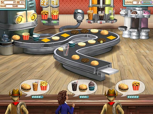 Burger Shop Screenshot