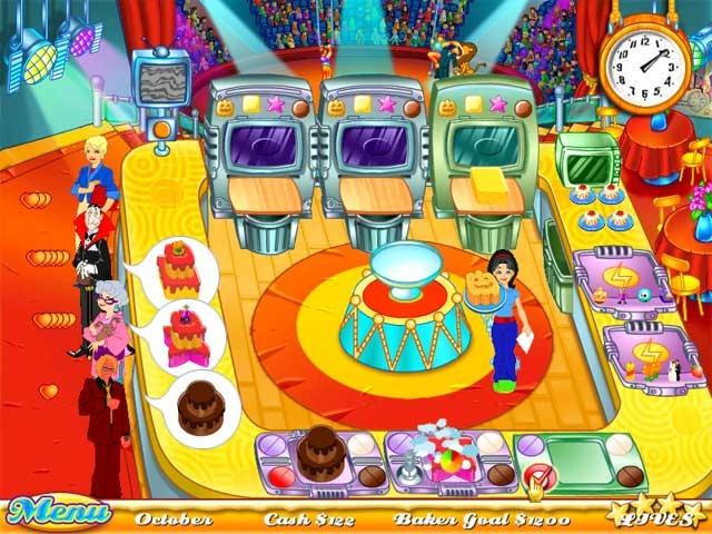 Cake Mania Screenshot