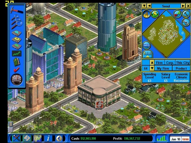 Capitalism II Screenshot