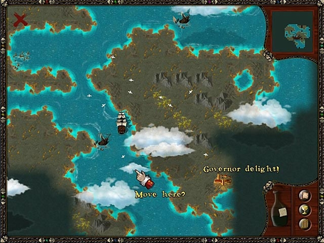 Caribbean Pirate Quest Screenshot