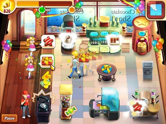 Chocolate Shop Frenzy Screenshot