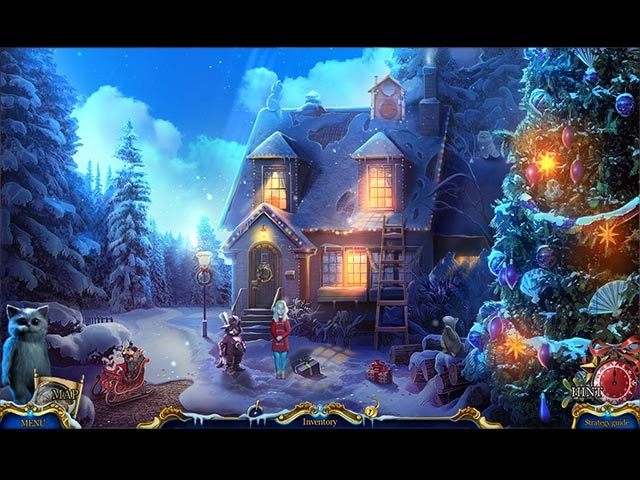 Christmas Stories: Puss in Boots Collector's Edition Screenshot