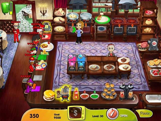 Cooking Dash: DinerTown Studios Screenshot