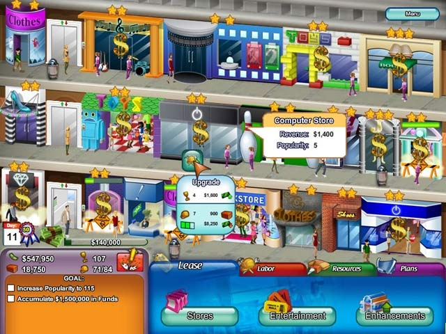 Create-A-Mall Screenshot