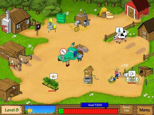 Dairy Dash Screenshot